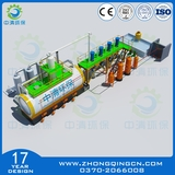 Waste oil batch distillation equipment